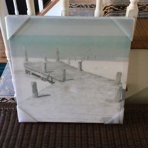 """Other - Fine art canvas 16""""x 16"""". Old jetty by Noah Bay"""